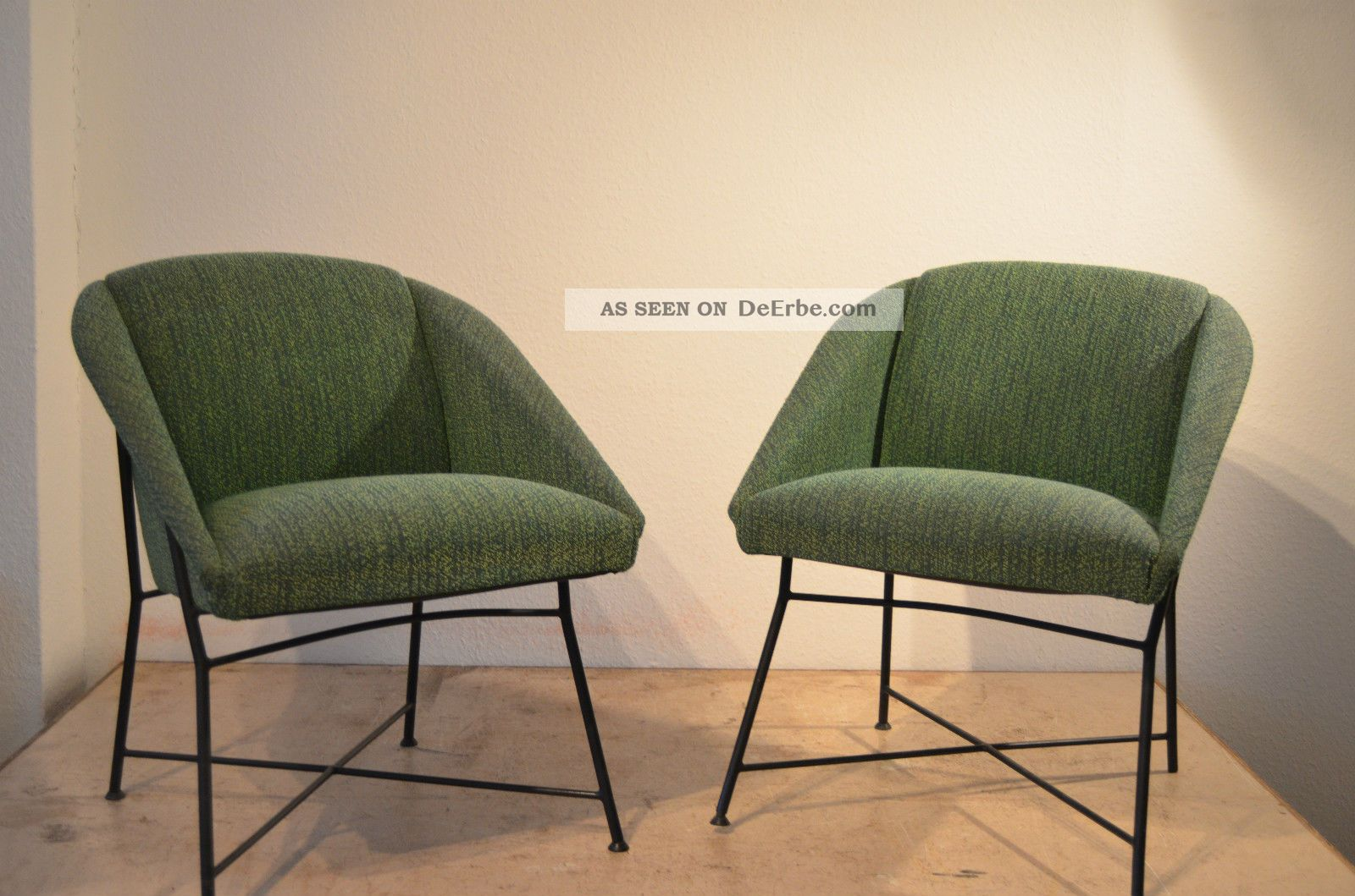 Augusto Bozzi Lounge Chairs Sessel 50er Saporiti Design