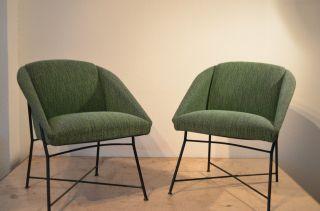 Augusto Bozzi Lounge Chairs Sessel 50er Saporiti Design Knoll Eames Cassina Bild