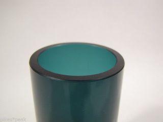 Design Der 60er / 70er Jahre: Rauch - Blaue Glas - Vase Bild