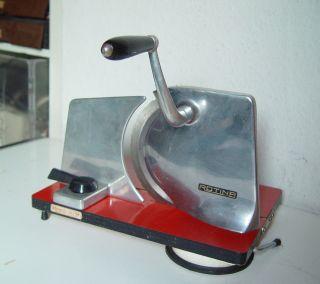 Brotschneidemaschine Handkurbel Rotina Edelstahl Bild