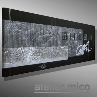 Atelier Mico ☆☆☆☆☆ Abstrakt Kunst Art Bilder Moderne Gemälde Malerei Bild