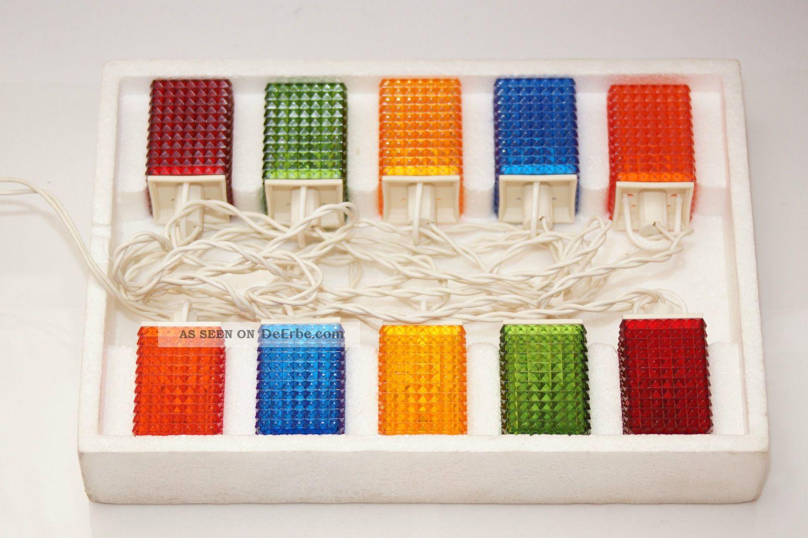 70er jahre party lichterkette lampions partylichter 10. Black Bedroom Furniture Sets. Home Design Ideas