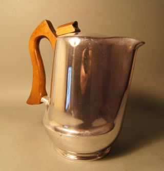 Kaffeekanne,  Picquot Ware England,  Art Deco Bild