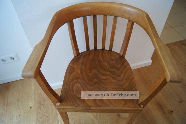sch ner alter armlehnstuhl bugholzstuhl vintage bauhaus. Black Bedroom Furniture Sets. Home Design Ideas