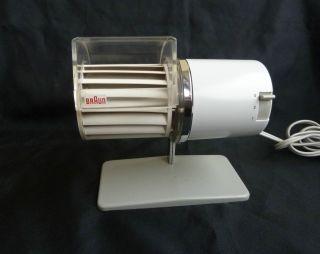 Braun Multiwind Hl 1 Tischventilator,  Tischlüfter,  Lüfter.  Design: Reinhold Weiss Bild
