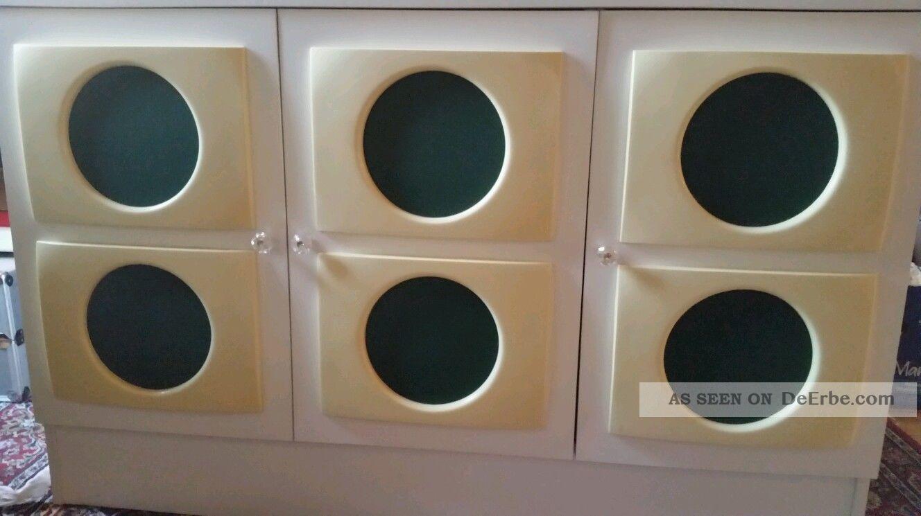 Design garderobe schuh schrank kommode sideboard 60er 70er for Garderobe 70er design