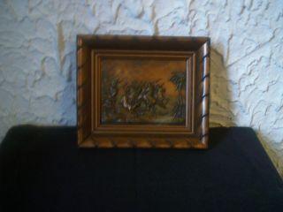Kupfer - Wandrelief,