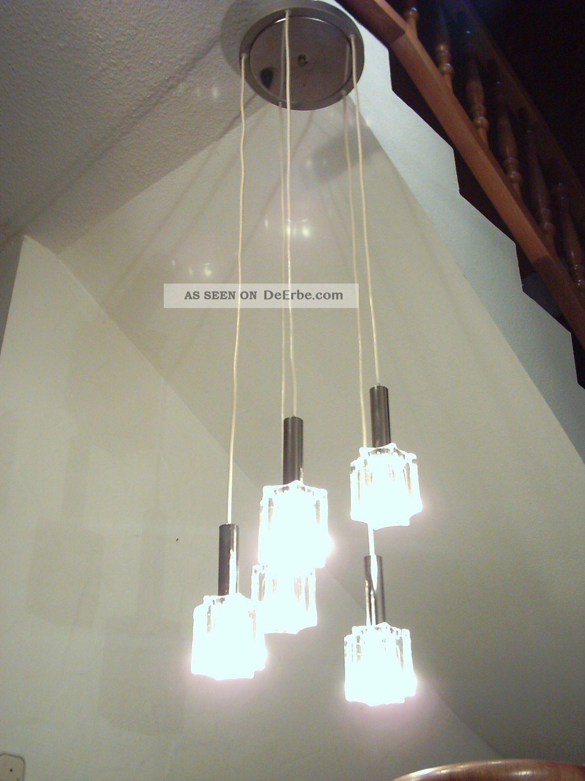 Kaskadenlampe Chrom Bubble Lamp 70 U0027 Er Jahre, Panton Eams Space Age Vintage  Lampe Bild