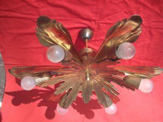 Prunkvolle Französische Art Nouveau Plafoniere Lampe Jugendstillampe Deckenlampe Bild