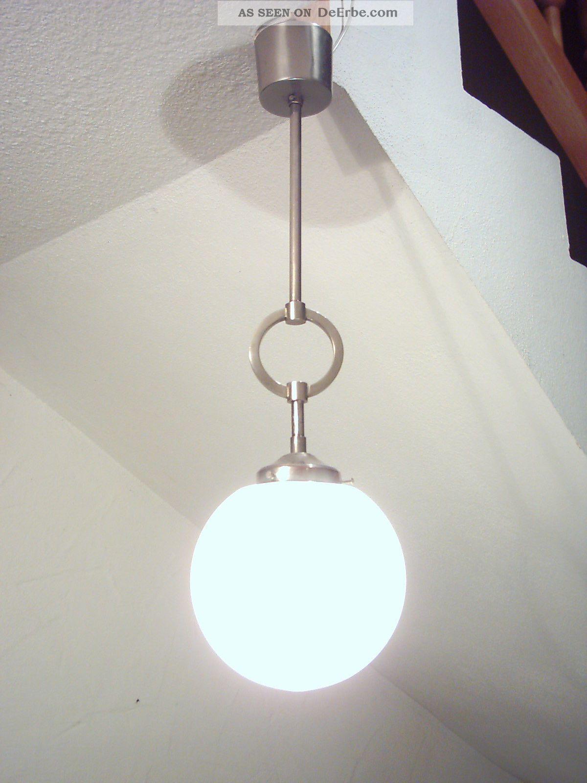 klassische art deco deckenlampe bauhaus kugellampe lampe loft. Black Bedroom Furniture Sets. Home Design Ideas