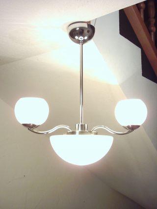 Klassische Art Deco Deckenlampe Bauhaus Lampe Kugellampe Loft Bild
