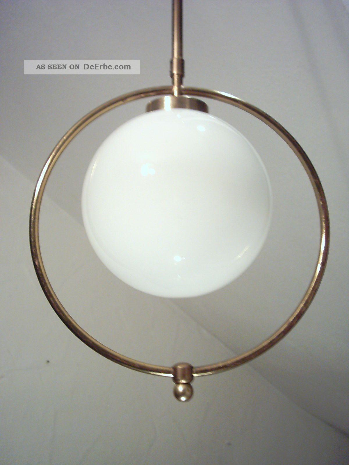 Klassische Art Deco Deckenlampe, Bauhaus, Lampe