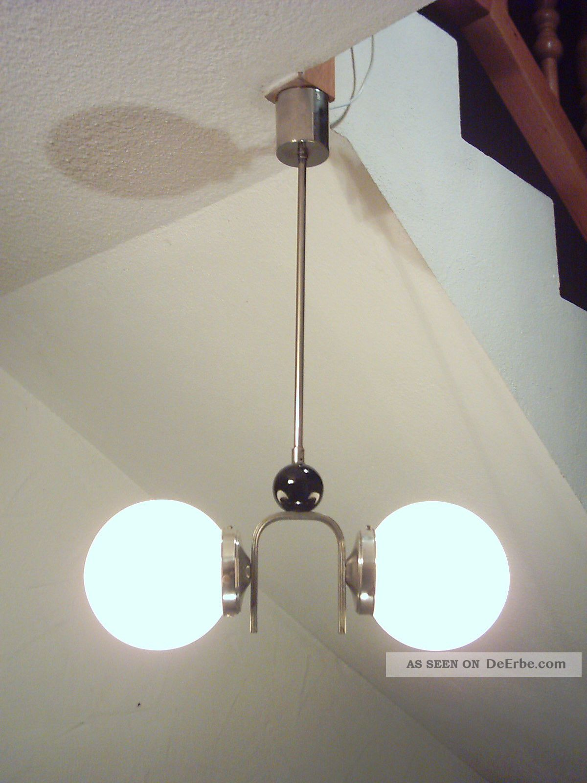 klassische art deco deckenlampe bauhaus lampe kugellampe loft. Black Bedroom Furniture Sets. Home Design Ideas