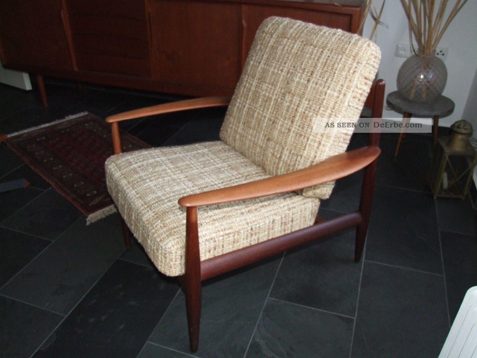 Easy Chair Teak 50er 60er Klassiker Sideboard Kompatibel Mid Century