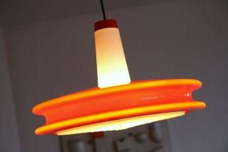 70er 60er Lampe Lamp Kunststoff Opalglas Eames Panton 60s Bild