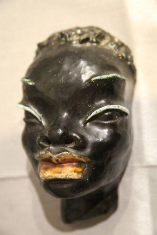 Kopf Einer Afrikanerin / Keramik,  Wieselthier / Baudisch / Wiener Werkstätte ? Bild