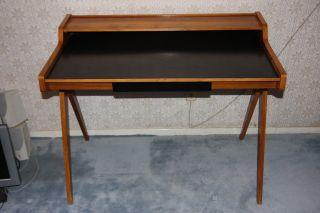Zierlicher Edler Design Schreibtisch (lady Desk) Von Helmut Magg 50er Ca.  1952 Bild