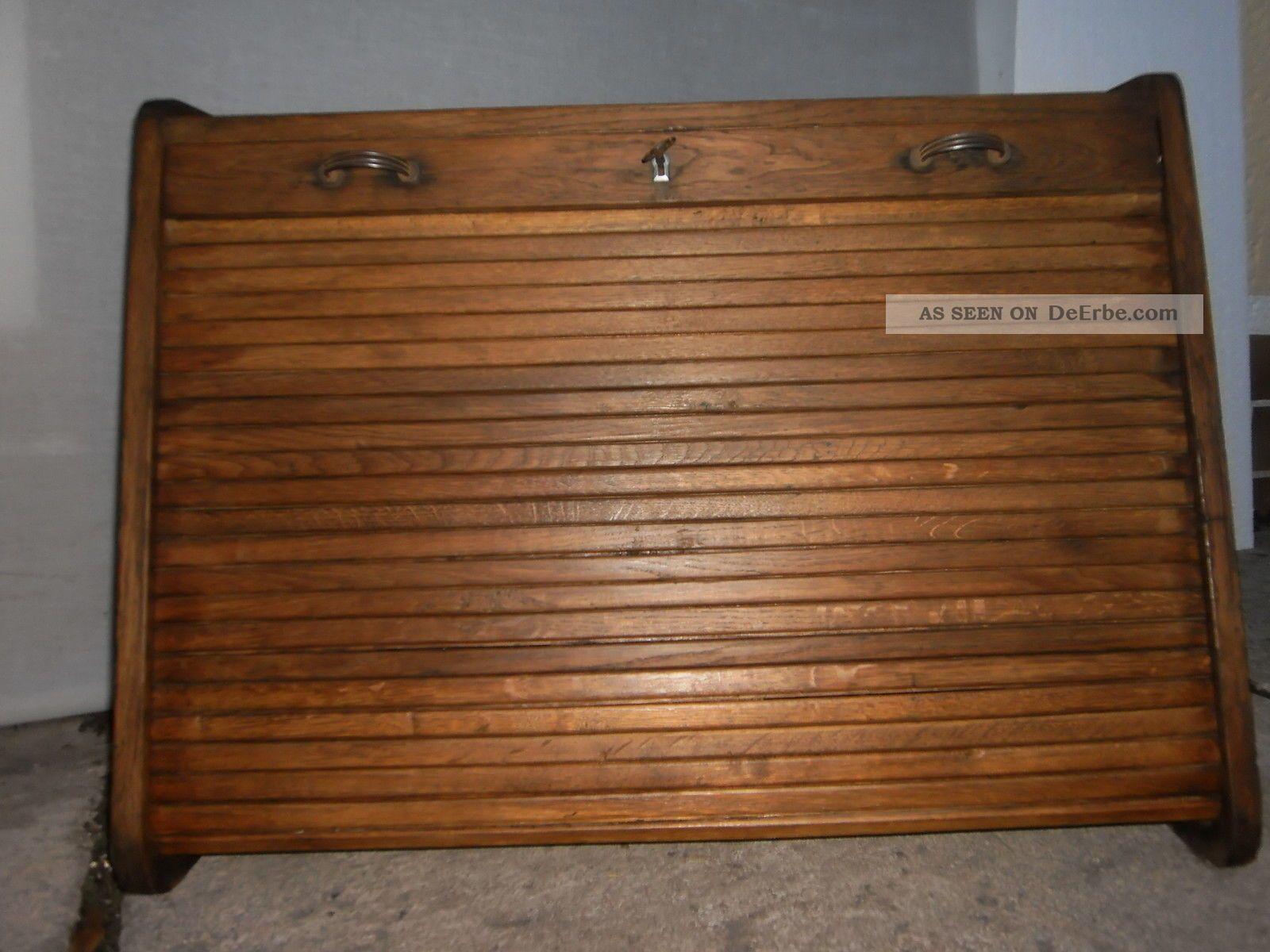 Art Deco Rolladenschrank Rollschrank Büroschrank Apothekerschrank ...
