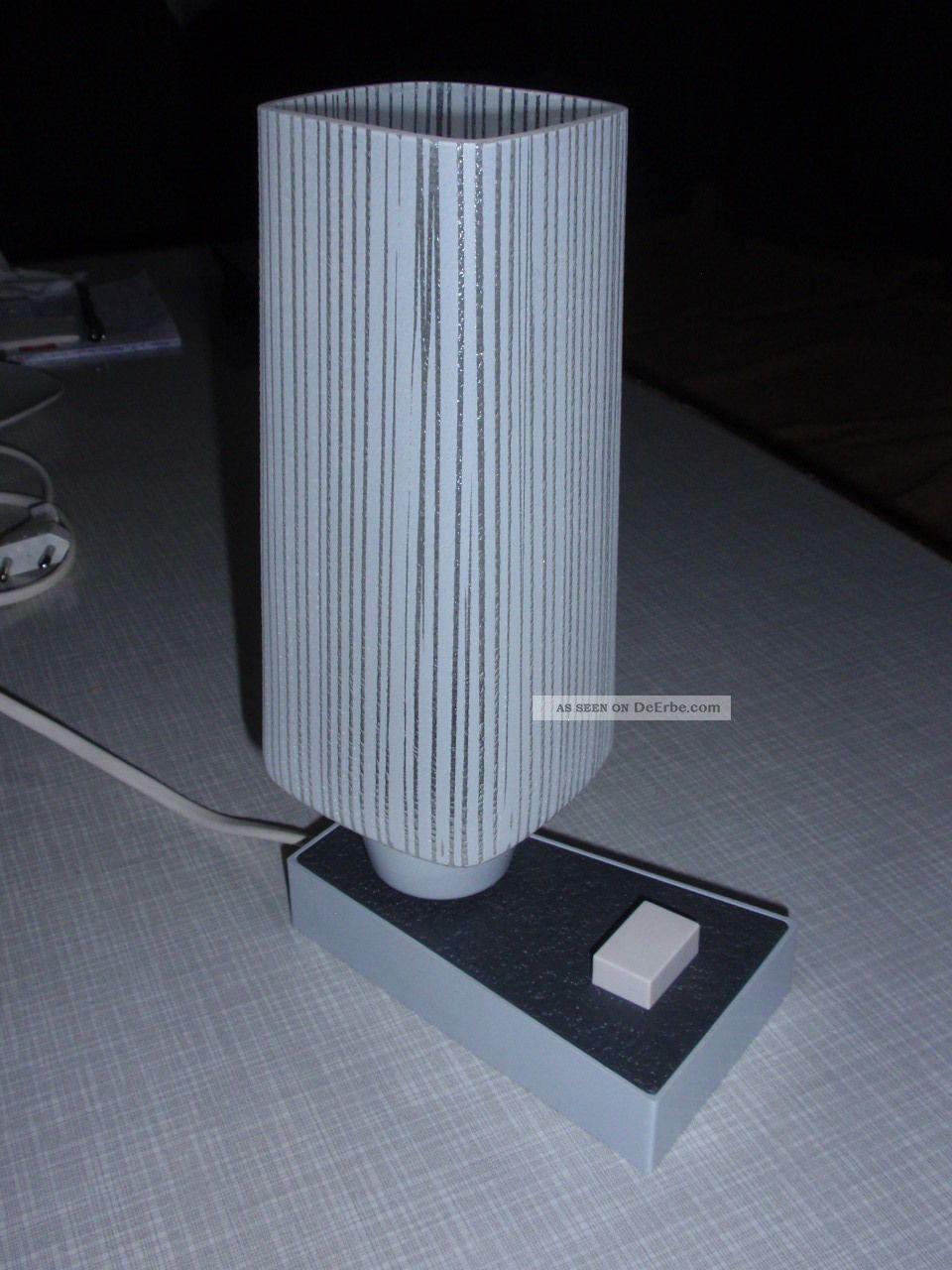 tischlampe nachttischlampe schreibtischlampe lampe 50er 60er jahre vintage. Black Bedroom Furniture Sets. Home Design Ideas