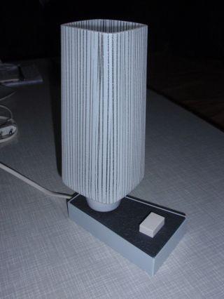 Tischlampe Nachttischlampe Schreibtischlampe Lampe 50er 60er Jahre Vintage Bild