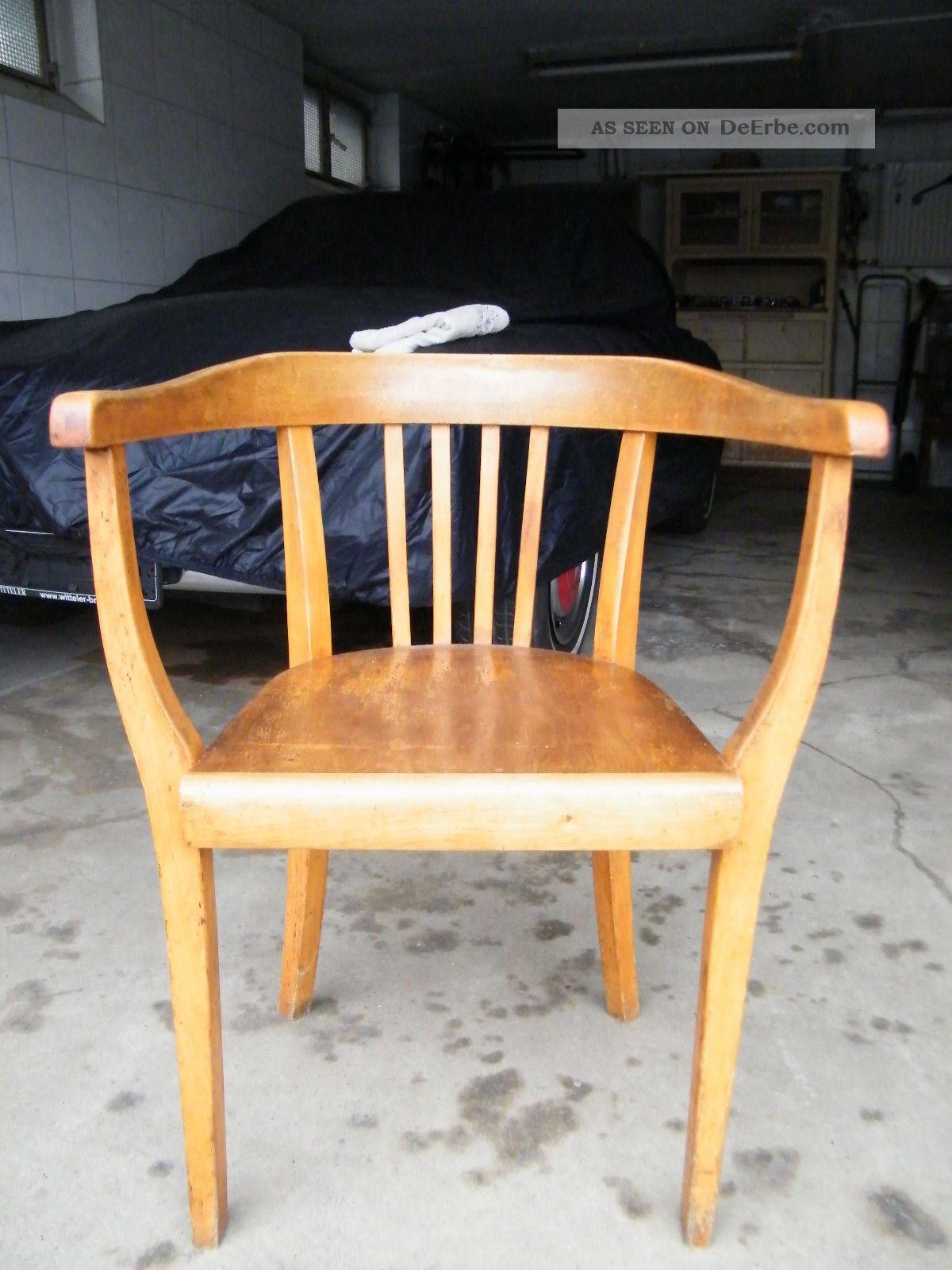 sch ner alter armlehnstuhl art deco ra bugholz ca 1930. Black Bedroom Furniture Sets. Home Design Ideas