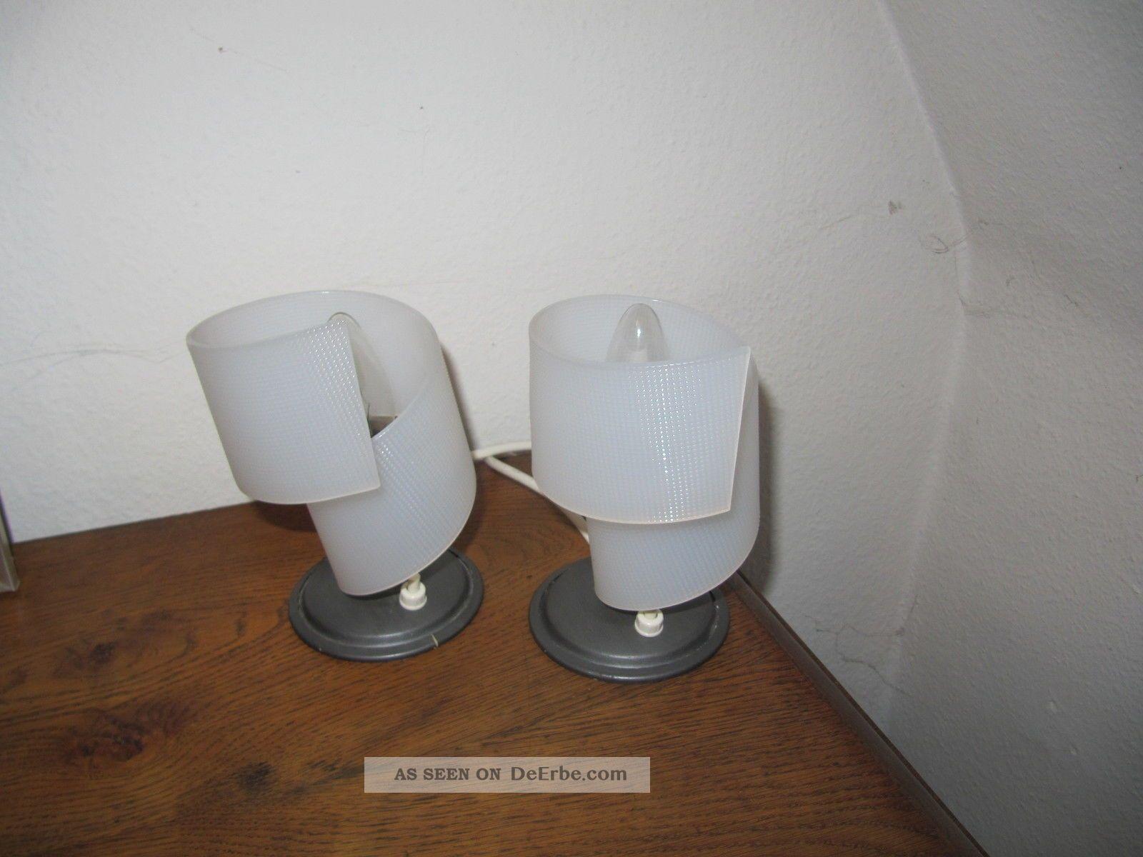 Nachttischlampen Orig Fifties Lampe Plexiglas 50er 19501959 Bild 3