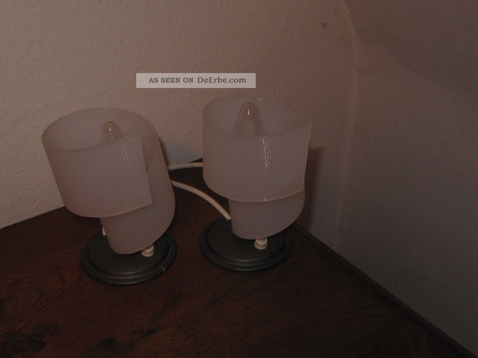 Nachttischlampen Orig Fifties Lampe Plexiglas 50er 19501959 Bild 4