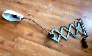 Scherenlampe Weiss Wandlampe Schreibtischlampe Lampe Werkstattlampe Bild