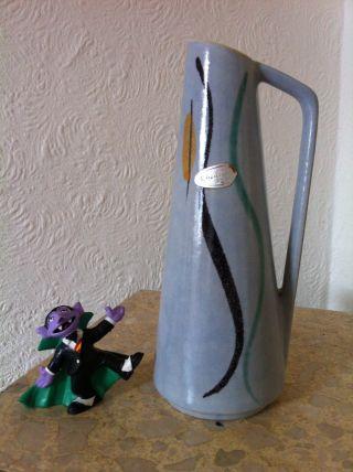 50 ' S Wgp West German Pottery 50er Jahre Scheurich Keramik Vase 275 - 20 (232) Bild