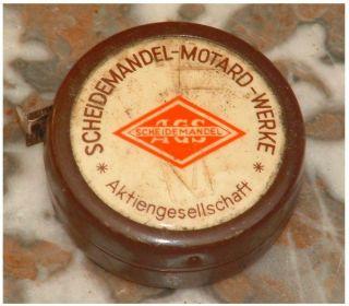 Maßband Metall Scheidemandel - Motard - Werke Schon Antik ? Ansehen Bild