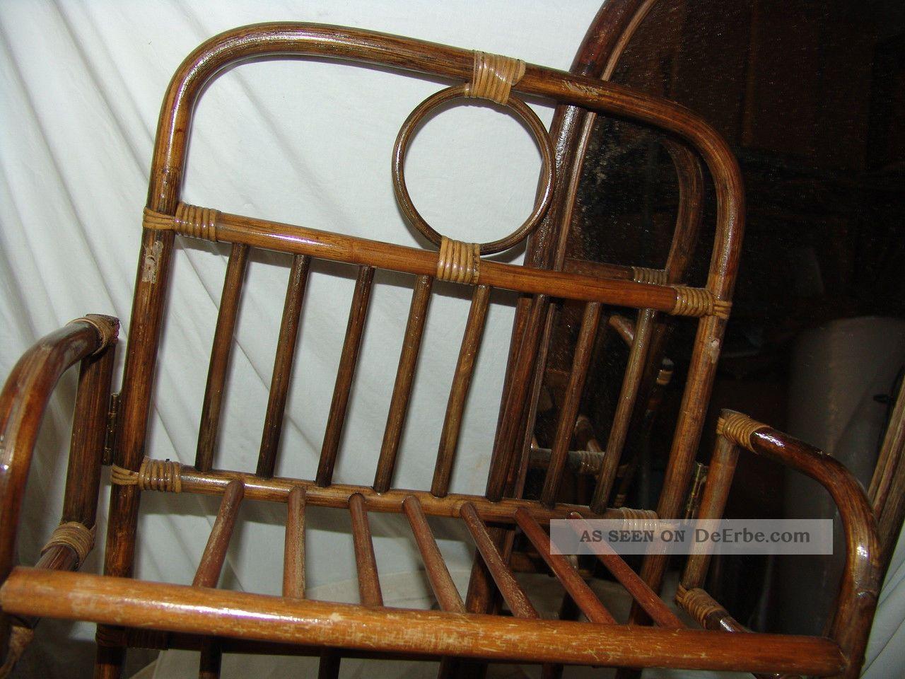 kleine sehr alte bauhaus wand flur garderobe bambus. Black Bedroom Furniture Sets. Home Design Ideas