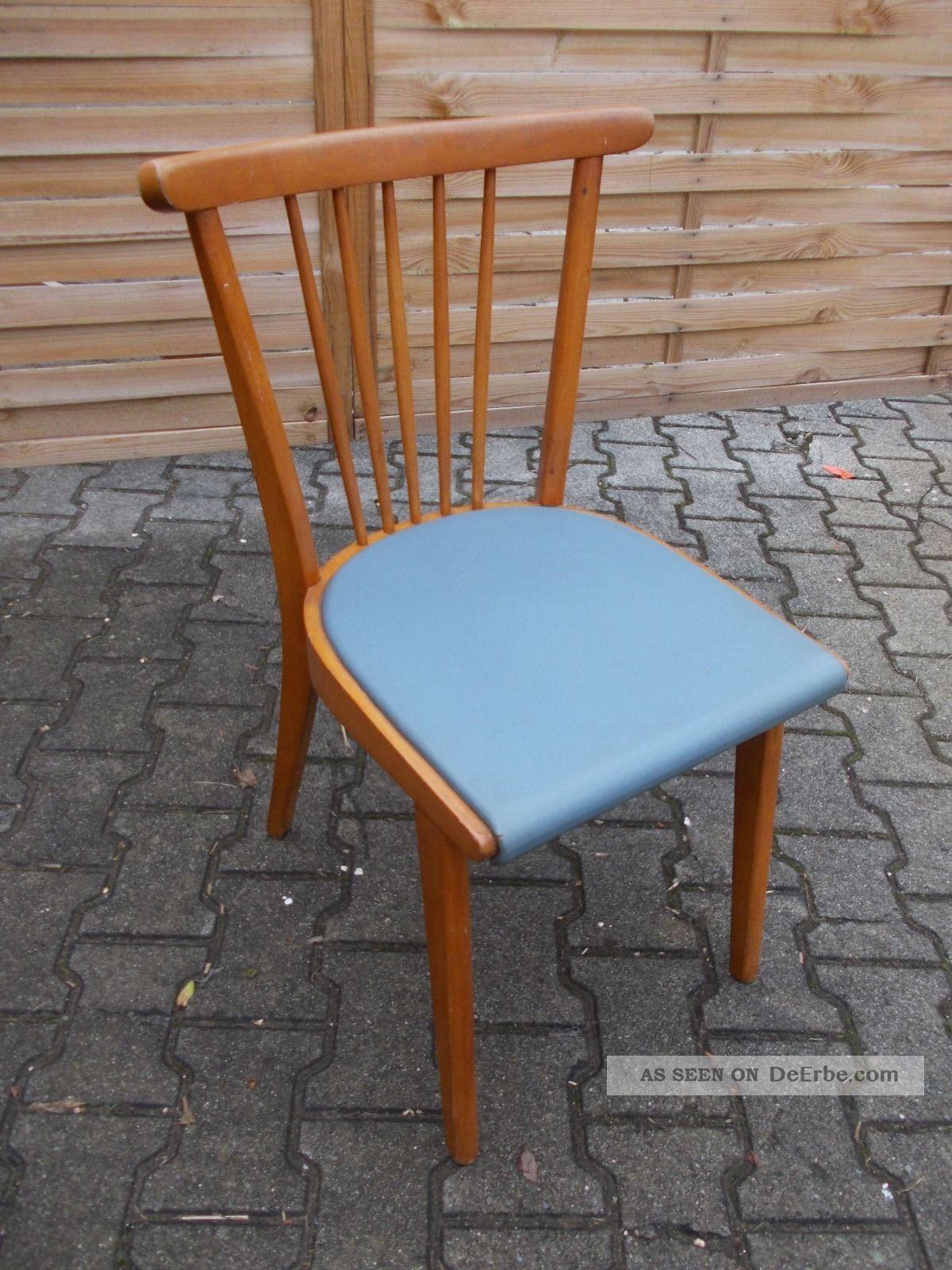 Alter Holz Stuhl, Alter Küchen Stuhl, 50er Jahre Stuhl