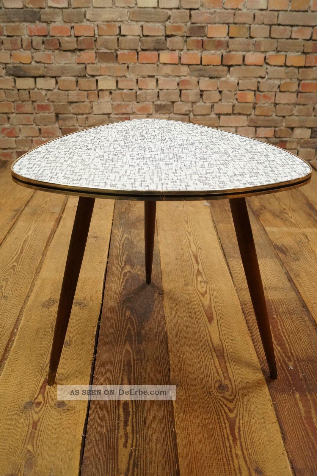 Rockabilly 50er Nierentisch Couchtisch Tisch Coffee Kidney