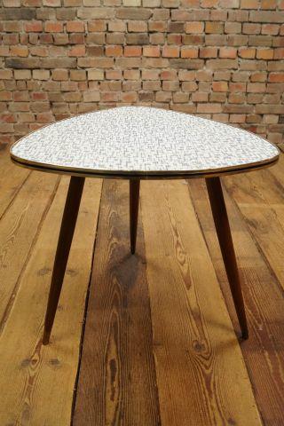 Rockabilly 50er Nierentisch Couchtisch Tisch Coffee Kidney Table Vintage Bild
