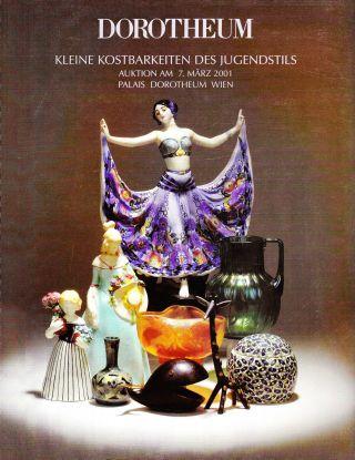 Kl.  Kostbarkeiten Des Jugendstil: Katalog Dorotheum Wien 01 Bild