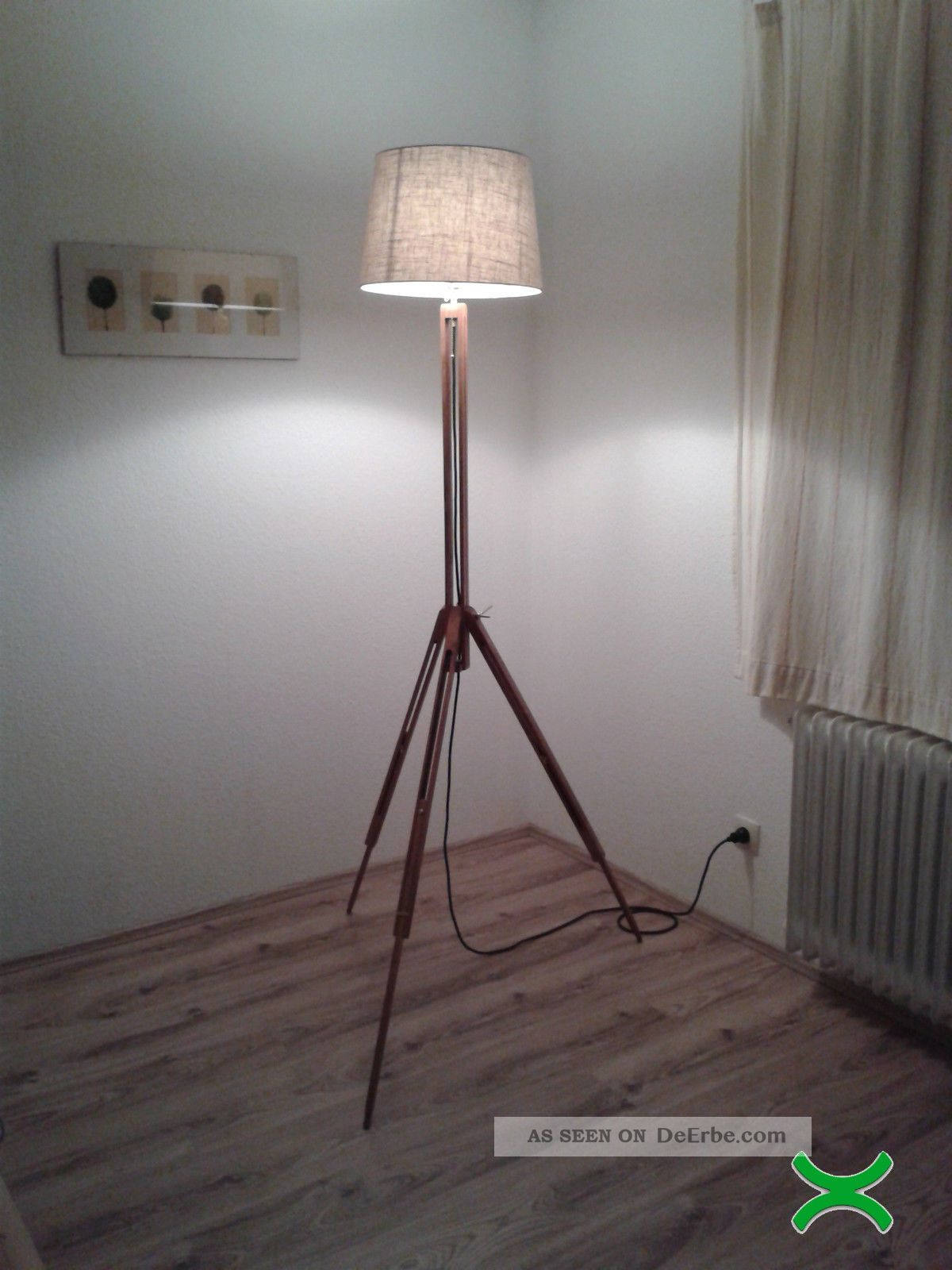 design lampe stehlampe bauhaus tripod lamp kugel architekt. Black Bedroom Furniture Sets. Home Design Ideas