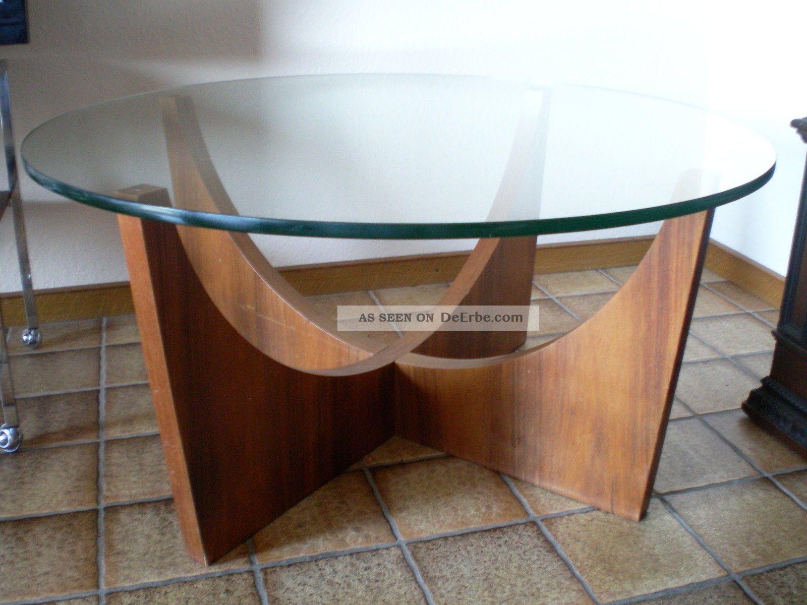 Couchtisch Flach Holz Funvit Wohnzimmermbel Kernbuche