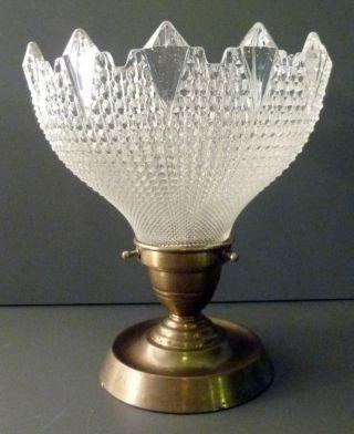 Traumhafte Jugendstil Lampe Deckenlampe,  Glas Messing,  Frankreich Um 1900 Bild