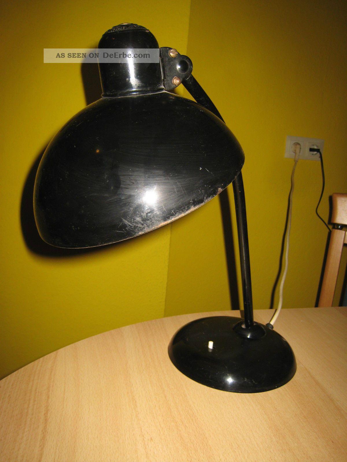 kaiser idell b rolampe schreibtischlampe modell 6556 schwarz. Black Bedroom Furniture Sets. Home Design Ideas
