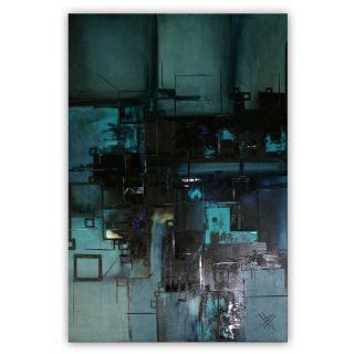 Unikat Moderne Kunst Malerei Abstrakt Öl Leinwand Xxl Bild Von Bozena Ossowski Bild