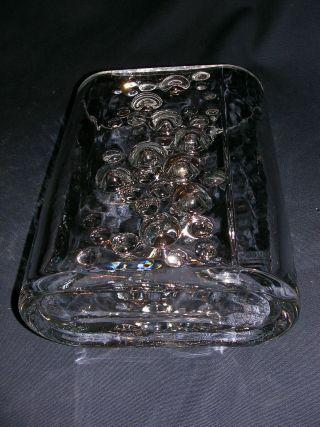Sehr Schwere Vase Aus Glas Oder Bleikristall,  Oval,  Aus Ca.  Den 1970 Er Jahren Bild