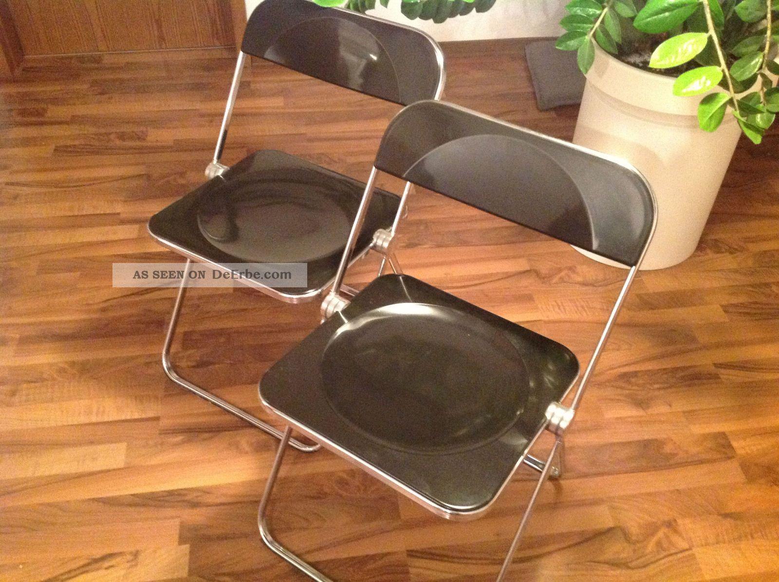 Castelli Plia Klappstuhl.2x Design Klappstuhl Castelli Plia Stuhl Designerstuhl