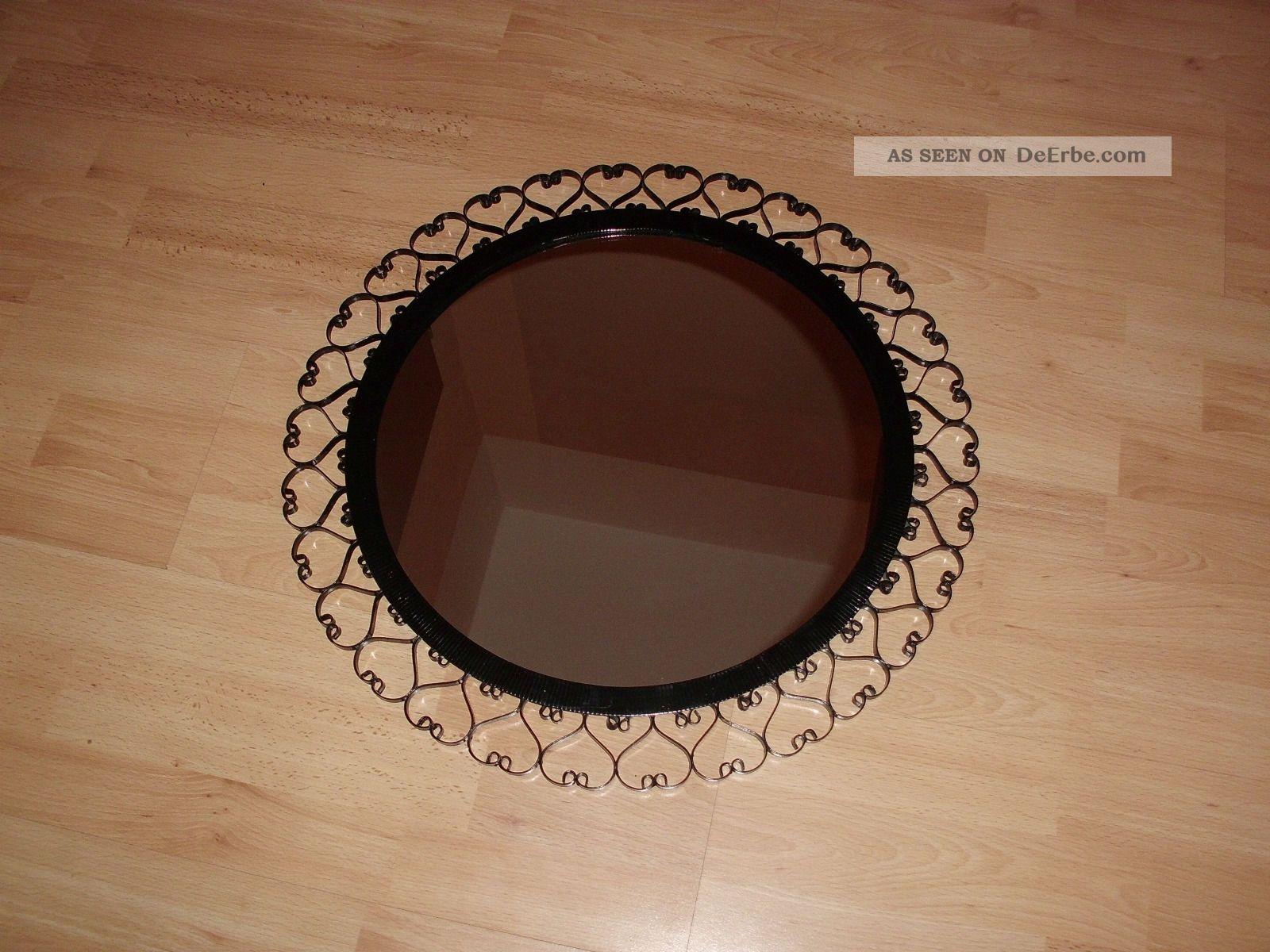 Ddr spiegel wandspiegel garderobenspiegel metallrahmen er retro