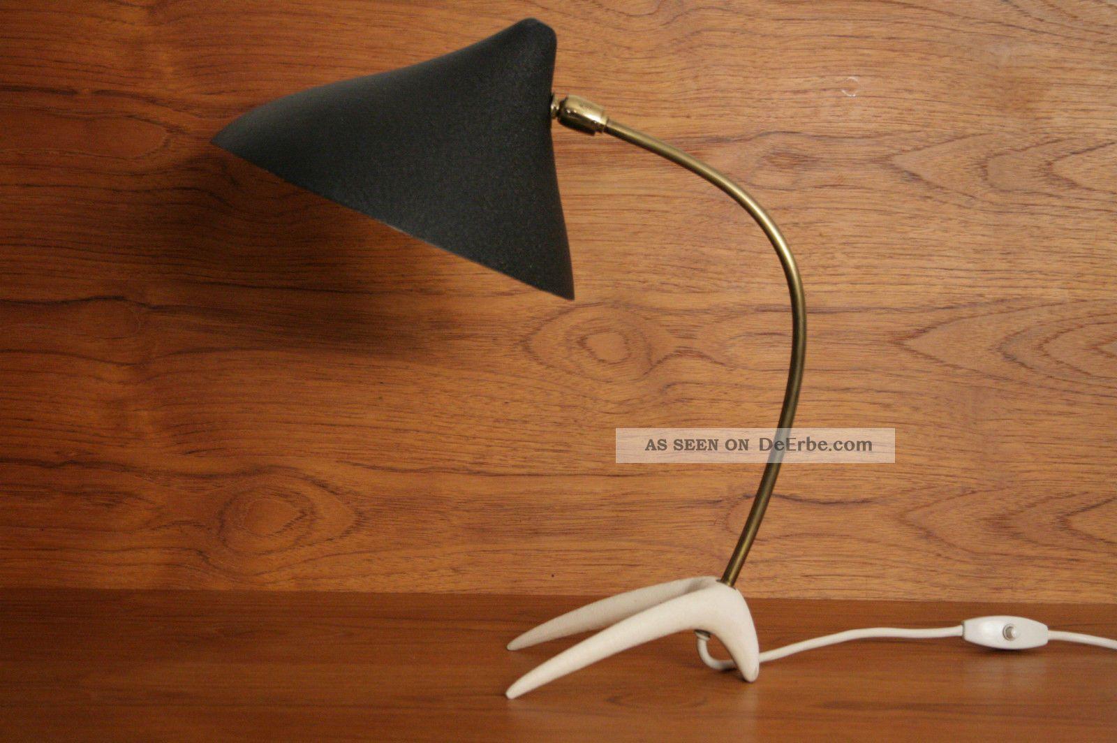 tischlampe louis kalff lampe 50er 60er jahre 50s lamp mid century kr henfuss. Black Bedroom Furniture Sets. Home Design Ideas