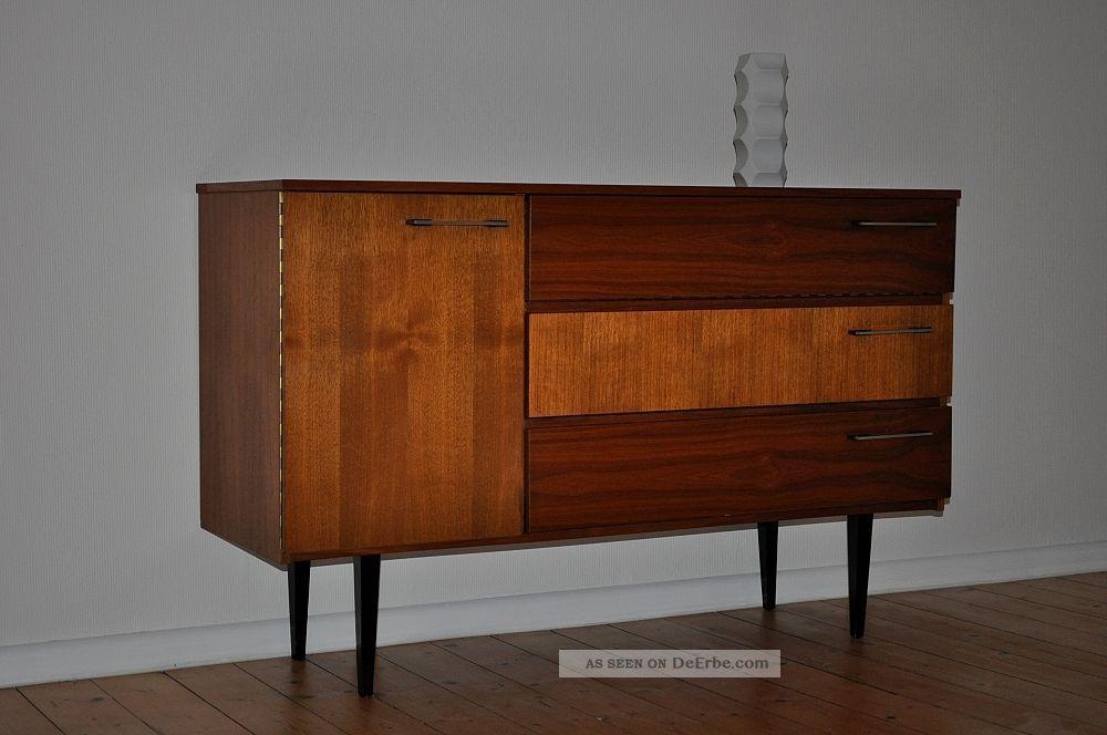 50er 60er sideboard rockabilly kommode 50s 60s anrichte. Black Bedroom Furniture Sets. Home Design Ideas