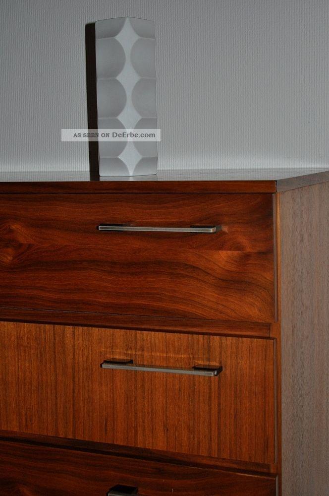 50er 60er sideboard rockabilly kommode 50s 60s anrichte schrank teak o nussbaum. Black Bedroom Furniture Sets. Home Design Ideas