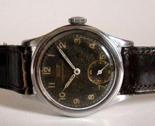 Tissot Ca.  1943 Kleine Sek.  Handaufzug Unisex Vintage Collectors Watch Rare Bild