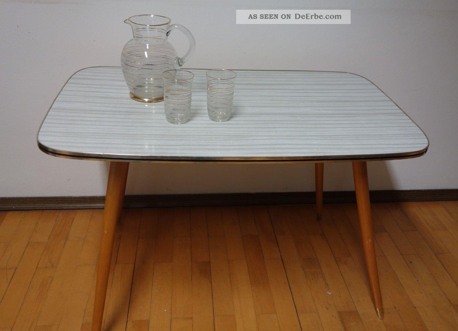 kultiger nierentisch rechteckig aus den 50er 60er jahren rockabilly. Black Bedroom Furniture Sets. Home Design Ideas