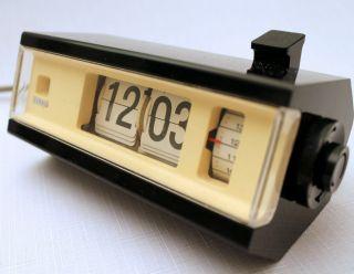 Copal Japan 227 Klappzahlen Wecker Tischuhr Flip Clock 60er 70erjahre Bild