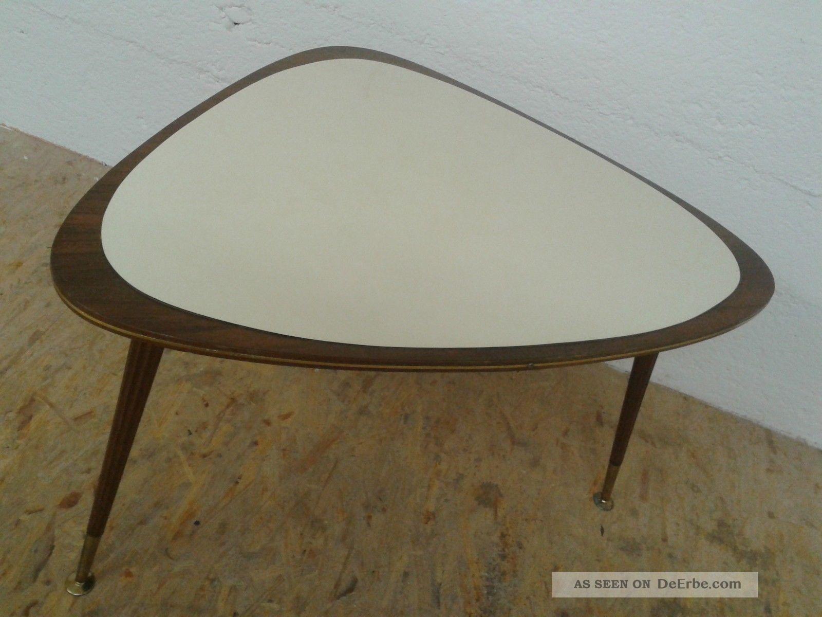 Nierentisch Tisch Ilse Möbel Beistelltisch 50er Rockabilly Ära Mid Century Antik 1960-1969 Bild